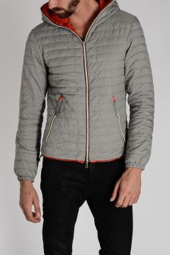 Reversible Hooded DRAGO ERRE Down-Jacket