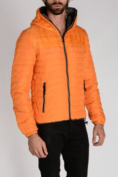 Reversible Hooded PEONE ERRE Down-Jacket