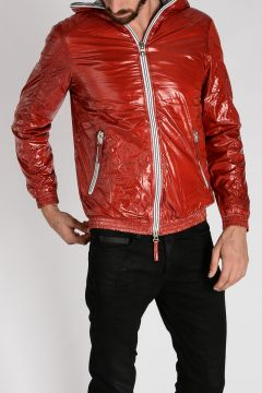 Nylon ALETE Hooded Down-Jacket