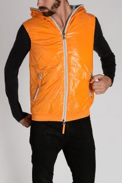 Nylon ANCEO Sleeveless Down-Jacket