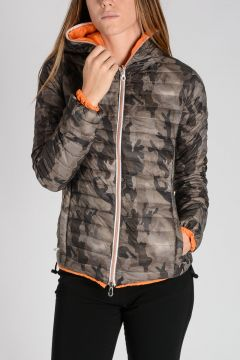 Reversible Hooded CARIADUE ERRE Down-Jacket