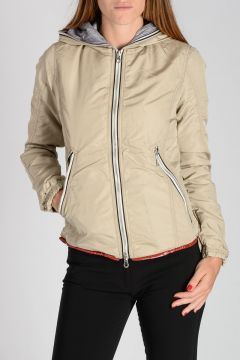 Hooded TRIGEDUE Down-Jacket