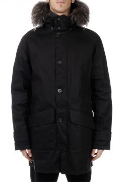 Down Padded ENNON jacket With Real Fur