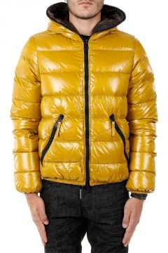 Nylon DIONISIO-ERRE Reversible Down Coat
