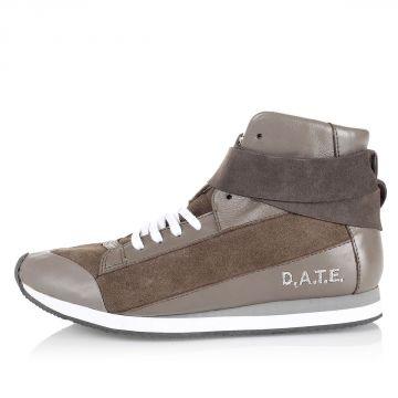 "Sneakers alte ""Nina"" in Pelle"