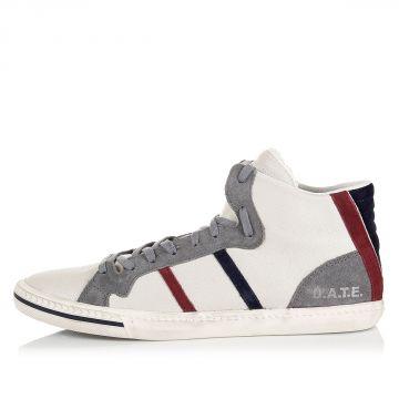 "Sneakers Alte ""Stone High Plus"" in Pelle"