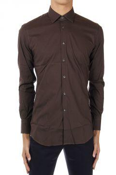 Camicia Modern Fit in cotone stretch