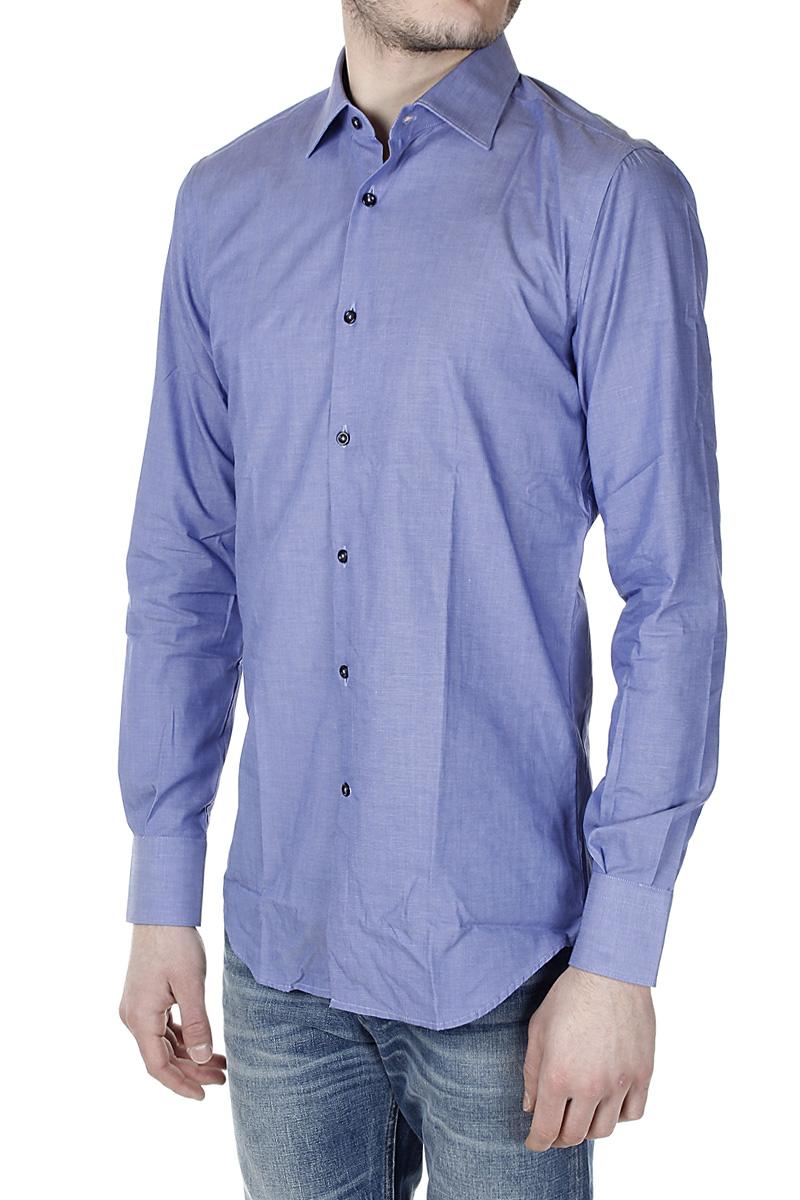 Delsiena men cotton modern fit shirt spence outlet for Modern fit dress shirt