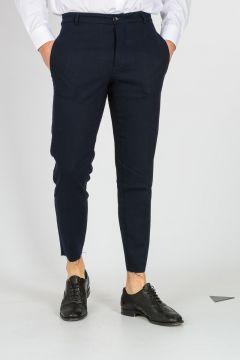 Pantalone GEORGE in Misto Lana Vergine