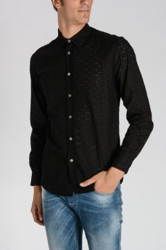 Camicia PAUL in Cotone Ricamato
