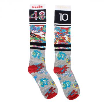 Flower pattern Long Socks
