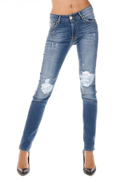 Jeans KELLY in Denim Stretch 12 cm