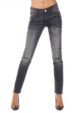 Stretch Denim Skinny APRIL Jeans 14 cm