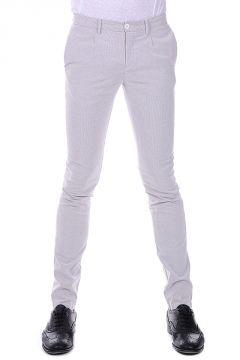 Pantaloni a Righe Stretch