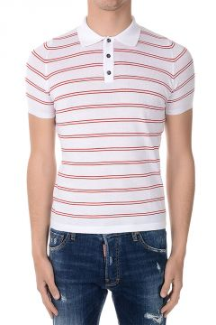 Cotton Polo Striped print