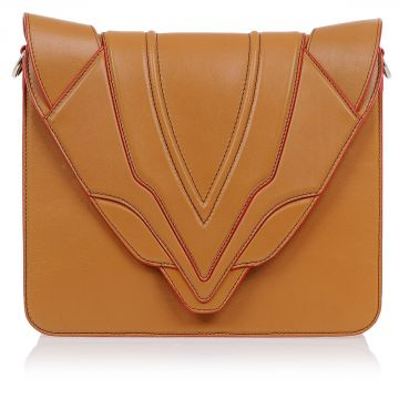 LULI G. SENSUA Leather Shoulder Bag