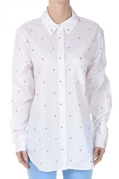 Embroidered Shirt in Cotton