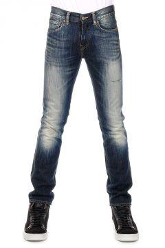 Jeans Slim Tapered Fit in Denim Vintage 17 cm