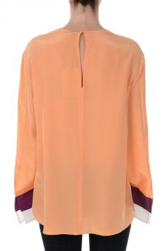 Silk Long Sleeves Top