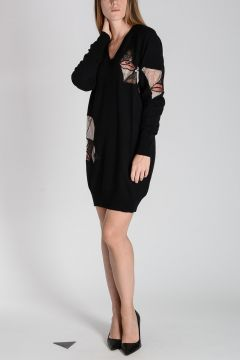 Silk wool Cashmere Knitted dress