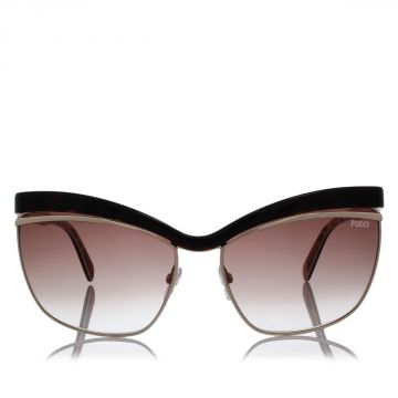 Sunglasses With Gold Tone Details
