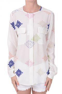 Camicia Floreale in Seta