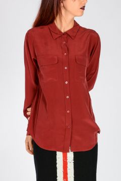 Silk SLIM SIGNATURE Blouse