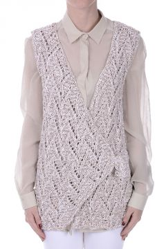 Knitted Gilet with Sequins