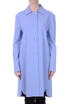 Viscose Blend Duster Coat
