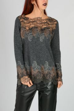 Silk Wool Sweater