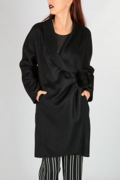 Virgin Wool Angora Coat