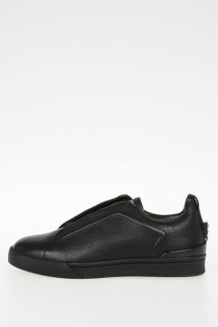 COUTURE Leather TRIPLE X Sneakers