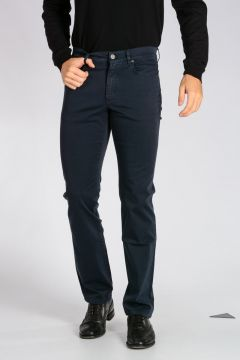 Z ZEGNA Jeans in Denim di Cotone Stretch 19 cm