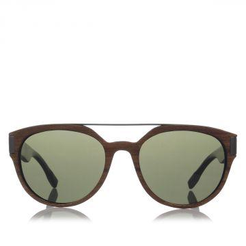 COUTURE Occhiale da sole in Legno e Corno di Bufalo