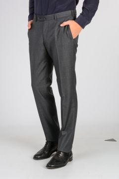 Pantaloni Slim in Lana