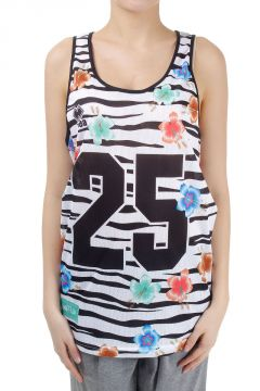 Basketball Tank Top in Perforated Fabric