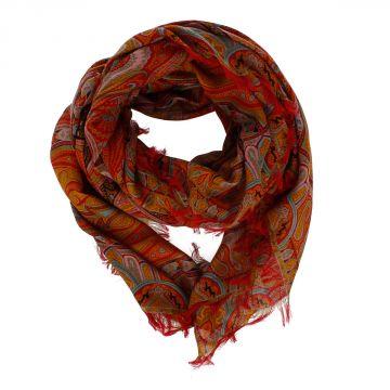 Wool & Silk Foulard 145 x 135 cm
