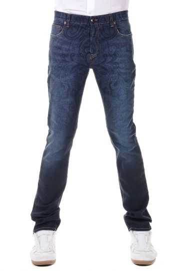 Jeans Broccati in Denim 18 cm