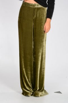 Chenille Wide Leg Pants