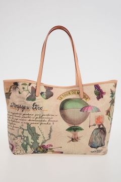 Borsa in eco Pelle a Fantasia