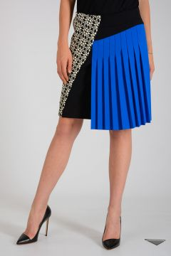 Mini Skirt with Pleated Details