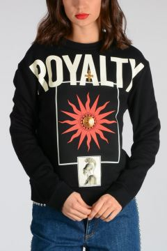 Round Neck ROYALTY Sweatshirt