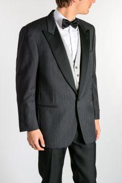 Virgin Wool Tuxedo Blazer & Vest Set