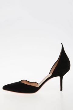 8cm Leather Decolletes