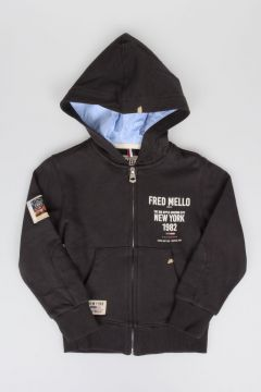 Full Zipped Hooded Sweatshirt