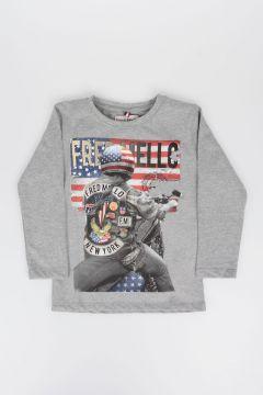 T-shirt  Felpata e Stampata
