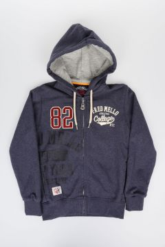 Full Zipped Hooded Sweatshirt