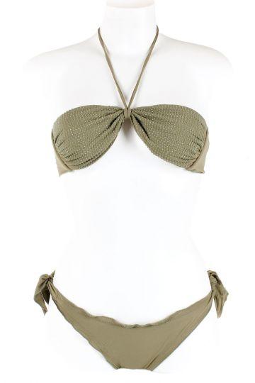 Strapless Bikini with strass