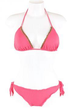 Triangle Bikini with strass