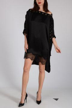 Silk Laced Dress